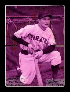 Picture of Helmar Brewing Baseball Card of Paul WANER (HOF), card number 257 from series R318-Helmar Hey-Batter!