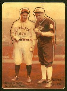 Picture of Helmar Brewing Baseball Card of Babe RUTH (HOF), card number 26 from series R318-Helmar Hey-Batter!
