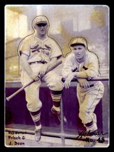 Picture of Helmar Brewing Baseball Card of Frank FRISCH (HOF), card number 48 from series R318-Helmar Hey-Batter!