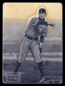Picture of Helmar Brewing Baseball Card of Vic WILLIS (HOF), card number 89 from series R318-Helmar Hey-Batter!