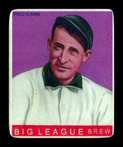 Picture of Helmar Brewing Baseball Card of Fred CLARKE (HOF), card number 14 from series R319-Helmar Big League