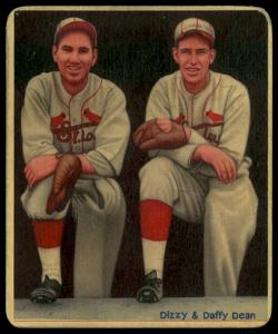 Picture of Helmar Brewing Baseball Card of Daffy Dean, card number 18 from series R319-Helmar Big League