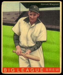 Picture of Helmar Brewing Baseball Card of Honus WAGNER (HOF), card number 204 from series R319-Helmar Big League