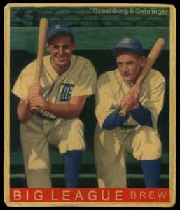 Picture of Helmar Brewing Baseball Card of Charlie GEHRINGER, card number 207 from series R319-Helmar Big League