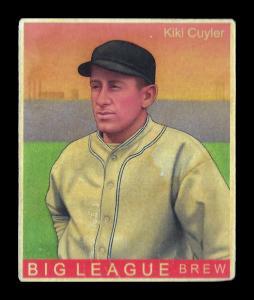 Picture of Helmar Brewing Baseball Card of Kiki CUYLER (HOF), card number 297 from series R319-Helmar Big League