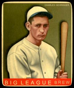 Picture of Helmar Brewing Baseball Card of Charlie GEHRINGER, card number 32 from series R319-Helmar Big League