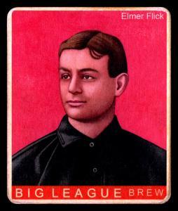 Picture of Helmar Brewing Baseball Card of Elmer FLICK (HOF), card number 339 from series R319-Helmar Big League