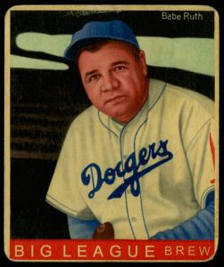 Picture of Helmar Brewing Baseball Card of Babe RUTH (HOF), card number 34 from series R319-Helmar Big League