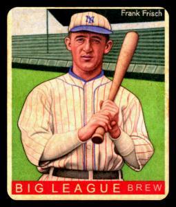 Picture of Helmar Brewing Baseball Card of Frank FRISCH (HOF), card number 462 from series R319-Helmar Big League