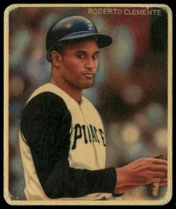 Picture of Helmar Brewing Baseball Card of Roberto CLEMENTE, card number 47 from series R319-Helmar Big League