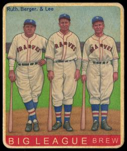 Picture of Helmar Brewing Baseball Card of Babe RUTH (HOF), card number 494 from series R319-Helmar Big League
