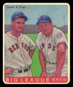 Picture of Helmar Brewing Baseball Card of Jimmie FOXX, card number 501 from series R319-Helmar Big League