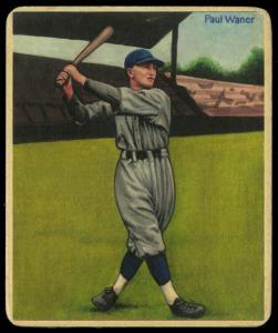 Picture of Helmar Brewing Baseball Card of Paul WANER (HOF), card number 64 from series R319-Helmar Big League