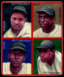 Picture of Helmar Brewing Baseball Card of Josh GIBSON (HOF), card number 11 from series R321-Helmar