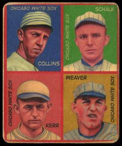 Picture of Helmar Brewing Baseball Card of Dickie Kerr, card number 30 from series R321-Helmar