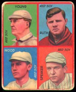 Picture of Helmar Brewing Baseball Card of Babe RUTH (HOF), card number 45 from series R321-Helmar