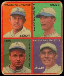 Picture of Helmar Brewing Baseball Card of Jimmie FOXX, card number 59 from series R321-Helmar
