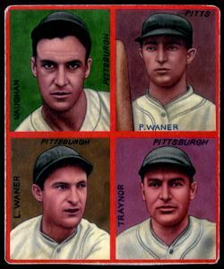 Picture of Helmar Brewing Baseball Card of Paul WANER (HOF), card number 6 from series R321-Helmar