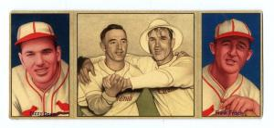Picture of Helmar Brewing Baseball Card of Frank FRISCH (HOF), card number 10 from series T202-Helmar