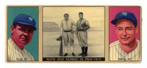 Picture of Helmar Brewing Baseball Card of Babe RUTH (HOF), card number 2 from series T202-Helmar