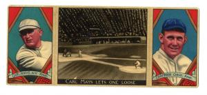 Picture of Helmar Brewing Baseball Card of Ray Chapman, card number 5 from series T202-Helmar