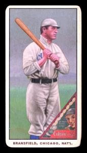Picture of Helmar Brewing Baseball Card of Kitty Bransfield, card number 136 from series T206-Helmar