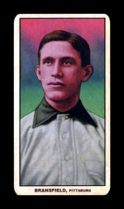 Picture of Helmar Brewing Baseball Card of Kitty Bransfield, card number 165 from series T206-Helmar