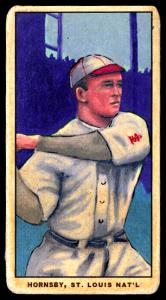 Picture of Helmar Brewing Baseball Card of Rogers HORNSBY (HOF), card number 16 from series T206-Helmar