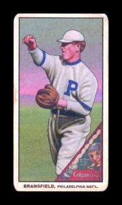 Picture of Helmar Brewing Baseball Card of Kitty Bransfield, card number 174 from series T206-Helmar