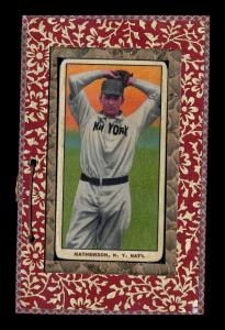 Picture of Helmar Brewing Baseball Card of Christy MATHEWSON (HOF), card number 18 from series T206-Helmar