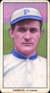 Picture of Helmar Brewing Baseball Card of Howie Camnitz, card number 196 from series T206-Helmar