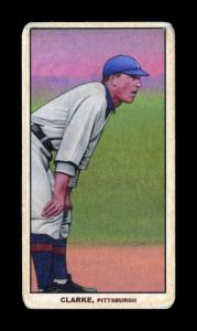 Picture of Helmar Brewing Baseball Card of Fred CLARKE (HOF), card number 198 from series T206-Helmar