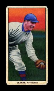 Picture of Helmar Brewing Baseball Card of Fred CLARKE (HOF), card number 199 from series T206-Helmar