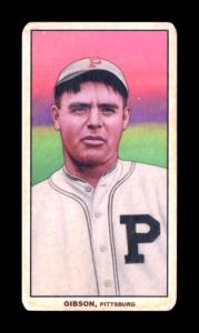 Picture of Helmar Brewing Baseball Card of George Gibson, card number 204 from series T206-Helmar