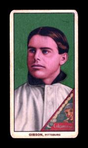 Picture of Helmar Brewing Baseball Card of George Gibson, card number 205 from series T206-Helmar