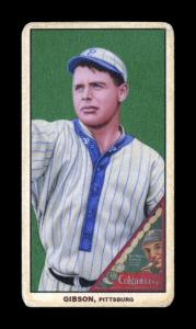 Picture of Helmar Brewing Baseball Card of George Gibson, card number 206 from series T206-Helmar