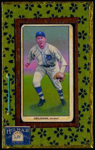Picture of Helmar Brewing Baseball Card of Harry HEILMANN (HOF), card number 211 from series T206-Helmar