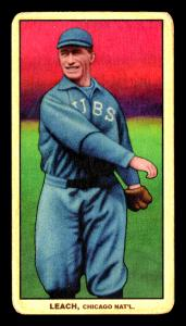 Picture of Helmar Brewing Baseball Card of Tommy Leach, card number 216 from series T206-Helmar