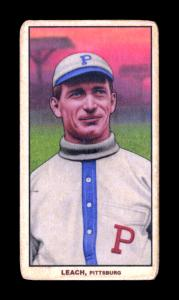 Picture of Helmar Brewing Baseball Card of Tommy Leach, card number 218 from series T206-Helmar