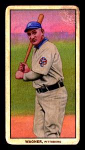 Picture, Helmar Brewing, T206-Helmar Card # 254, Honus WAGNER (HOF), PBC on forward arm, Pittsburgh Pirates