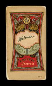Picture, Helmar Brewing, T206-Helmar Card # 266, Honus WAGNER (HOF), Throwing follow through, Pittsburgh Pirates