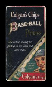 Picture, Helmar Brewing, T206-Helmar Card # 268, Honus WAGNER (HOF), Left elbow showing only, Pittsburgh Pirates