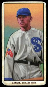 Picture of Helmar Brewing Baseball Card of Chick Gandil, card number 375 from series T206-Helmar