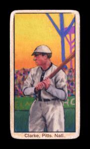 Picture of Helmar Brewing Baseball Card of Fred CLARKE (HOF), card number 3 from series T206-Helmar