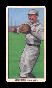 Picture of Helmar Brewing Baseball Card of Hughie JENNINGS (HOF), card number 403 from series T206-Helmar