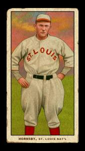 Picture of Helmar Brewing Baseball Card of Rogers HORNSBY (HOF), card number 41 from series T206-Helmar