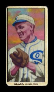 Picture of Helmar Brewing Baseball Card of Buck Weaver, card number 440 from series T206-Helmar