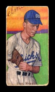 Picture of Helmar Brewing Baseball Card of Pete Gray, card number 497 from series T206-Helmar