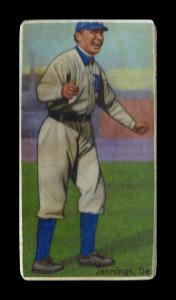 Picture of Helmar Brewing Baseball Card of Hughie JENNINGS (HOF), card number 514 from series T206-Helmar