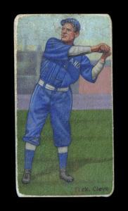 Picture of Helmar Brewing Baseball Card of Elmer FLICK (HOF), card number 528 from series T206-Helmar